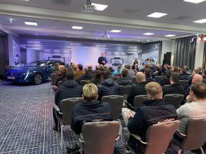 EV training Peugeot